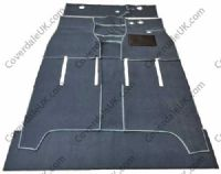 Austin A40 Somerset GS4 1952 to 1954 Carpet Set - Wessex Wool Range
